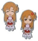 Sword Art Online Asuna  Happy and Angry Pin Set