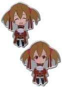 Sword Art Online Silica Happy and Angry Pin Set