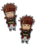 Sword Art Online Klein Happy and Angry Pin Set
