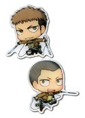 Attack on Titan Jean and Connie Pin Set