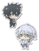 Psycho-Pass Kogami and Makishima Pin Set