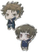 Psycho-pass Kagari and Akane Metal Pin Set