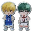 Kuroko's Basketball Kise and Midorima Pin Set