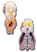 Tales of Vesperia Estelle and Flynn Pin Set