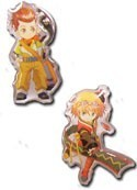 Tales of Vesperia Karol and Rita Pin Set