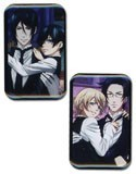 Black Butler Sebastian and Ciel, Alois and Claude Pin Set