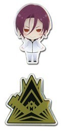 Free! - Iwatobi Swim Club Rin and Logo Pin Set