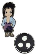 Naruto Shippuuden Sasuke Pin Set
