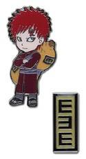 Naruto Shippuuden Gaara Pin Set