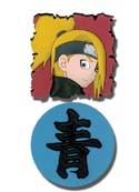 Naruto Shippuuden Deidara and Kanji Pin Set