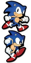 Sonic the Hedgehog Running Pin Set