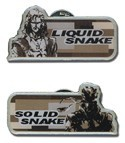 Metal Gear Solid 3 Solid & Liquid Snake Pin Set