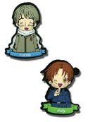 Hetalia Axis Powers Russia and Italy Pin Set