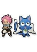 Fairy Tail Natsu and Happy PVC Pin Set