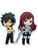 Fairy Tail Gray and Erza Pin Set