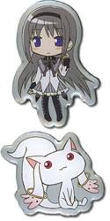 Puella Magi Madoka Magica 2 Pin Set Homura, Kyubey
