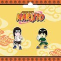 Naruto Lee and Neji Pin Set