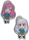 Rosario Vampire Moka and Transformed Pin Set