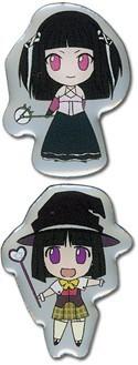 Rosario Vampire Yukari and Rubi Pin Set