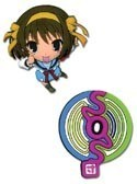The Melancholy of Suzumiya Haruhi Haruhi / Icon Pin Set