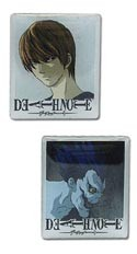Death Note Light and Ryuk Pin Set