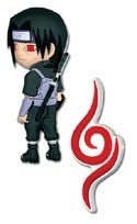 Naruto Itachi Past Ver. Pin Set