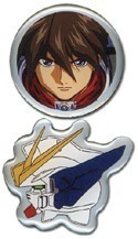 Gundam Wing Heero Pin Set