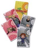 Hetalia Axis Powers Poker Cards