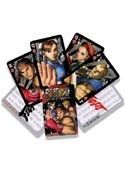 Street Fighter Poker Cards