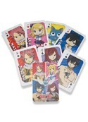 Fairy Tail Poker Playing Cards