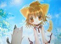 Di Gi Charat Puchiko's Summer Day Clear Plastic Poster