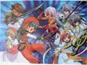 .Hack// Twilight Clear Plastic Poster