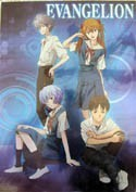 Neon Genesis Evangelion Group Clear Plastic Poster