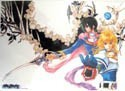 Tales of Destiny Clear Plastic Poster