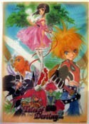 Tales of Destiny 2 Clear Plastic Poster
