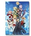 Sword Art Online Aincrad Group Poster Ichiban Kuji 2 E Prize