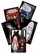 Deadman Wonderland Poker Cards