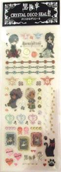 Kuroshitsuji Chibi Cell Phone Stickers