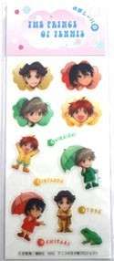 Prince of Tennis Shiraishi, Kintarou, Atobe, and Oshitari Phone Stickers
