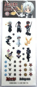 D.Gray-Man SD Phone Stickers B Set