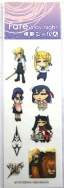 Fate Stay Night Phone Stickers A Set