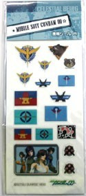 Gundam 00 Symbols Phone Stickers