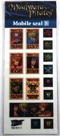 One Piece Wanted Poster Set B Phone Stickers