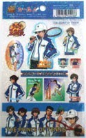 Prince of Tennis Seigaku Holographic Sticker Pack