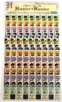Hunter X Hunter Mini Planner Calendar Stickers