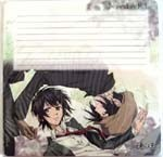 Nabari no Ou Group Notepad Mouse Pad