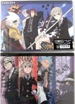 Soul Eater Large Blue Note Pad