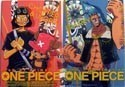 One Piece Mini Note Book Usopp, Chopper and Franky