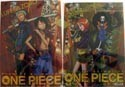 One Piece Clear File Luffy, Zoro, Nami, Brook