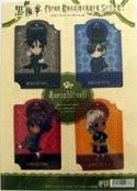 Kuroshitsuji 4 Plastic Book Mark Set